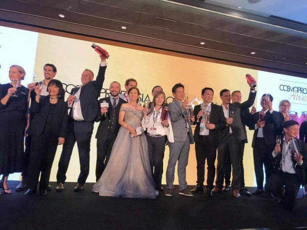 十藝膜殿獲Cosmoprof Asia 2019 台灣唯一獲獎